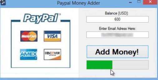 PayPal Money Adder 2018 v8.0 Best PayPal Money Generator Software